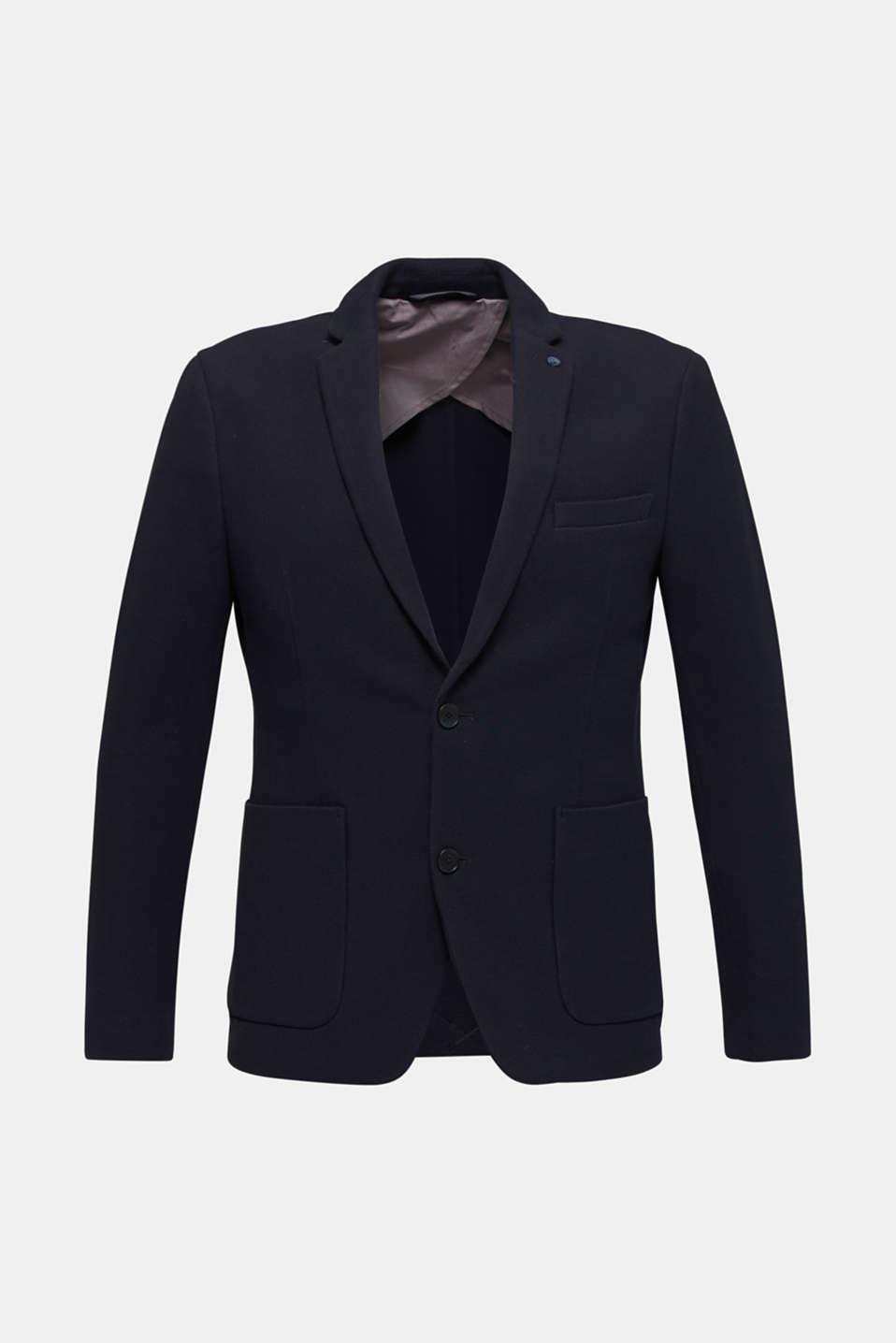 sports jacket made of 100% cotton, DARK BLUE, detail image number 7