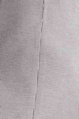 Jersey jacket with a striped texture, LIGHT GREY 3, detail