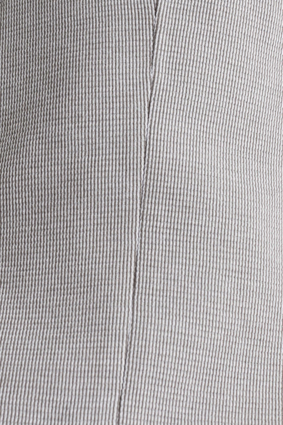 Jersey jacket with a striped texture, LIGHT GREY 3, detail image number 4