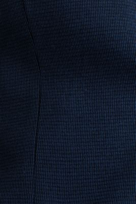 Jersey jacket with a striped texture, DARK BLUE 3, detail
