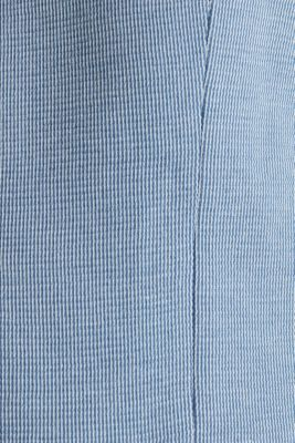 Jersey jacket with a striped texture, LIGHT BLUE 3, detail