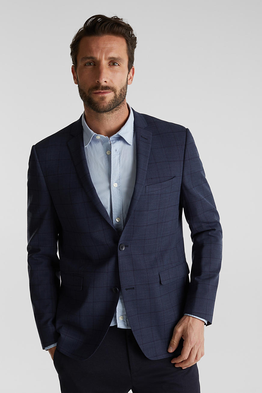 COOLMAX® CHECK Mix+Match: blazer