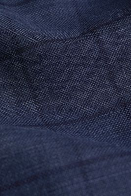 COOLMAX® CHECK mix + match: sports jacket with wool, GREY BLUE 3, detail