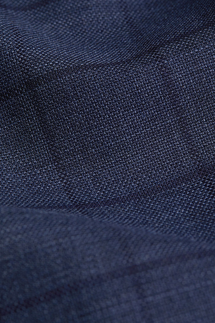 COOLMAX® CHECK Mix+Match: Sakko, GREY BLUE, detail image number 5