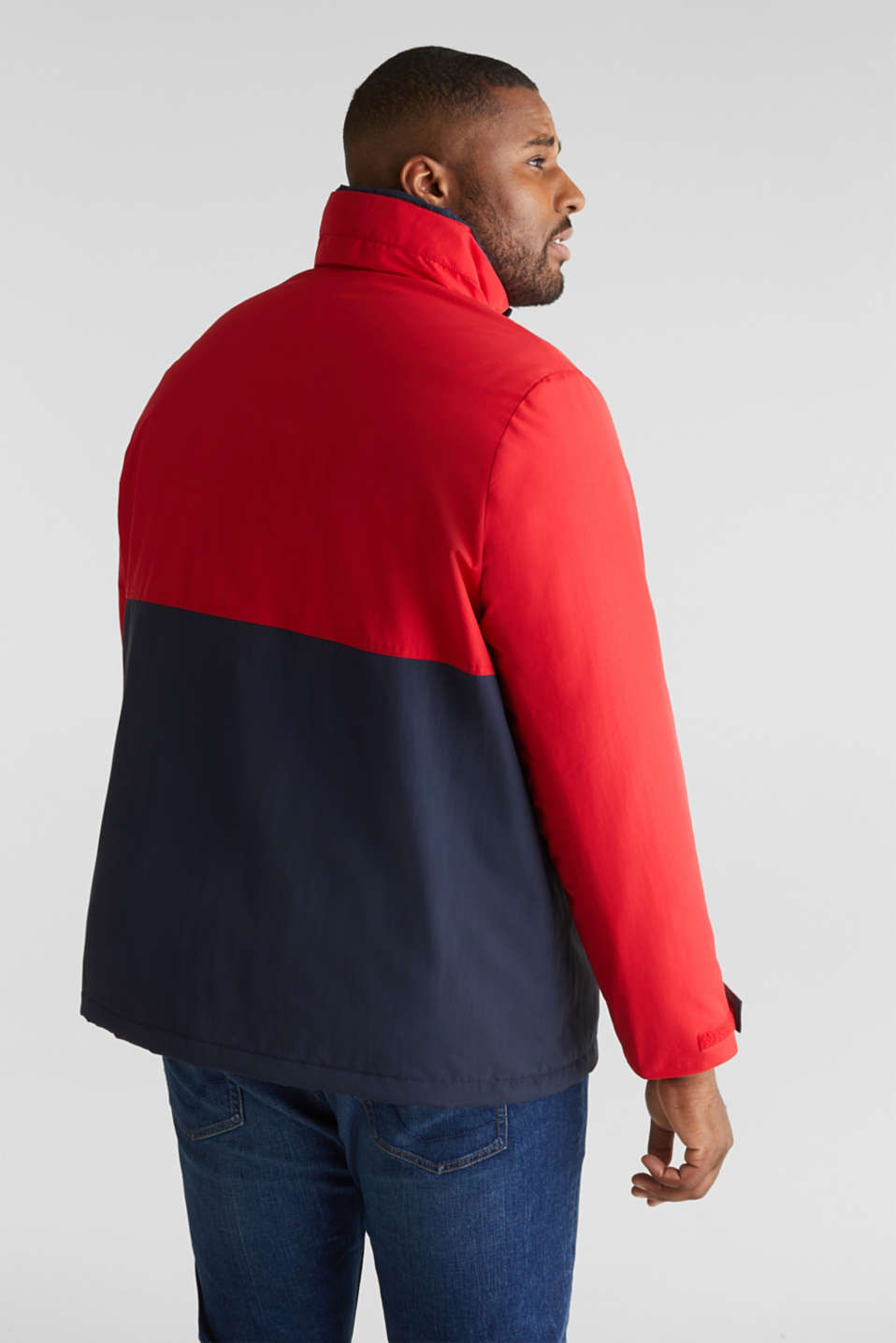 Outdoor jacket with a hood, RED 2, detail image number 3
