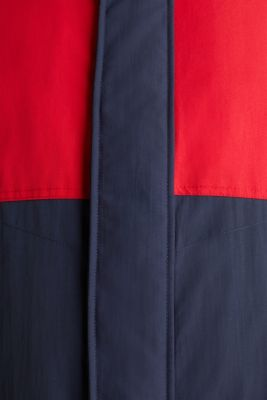 Outdoor jacket with a hood, RED 2, detail
