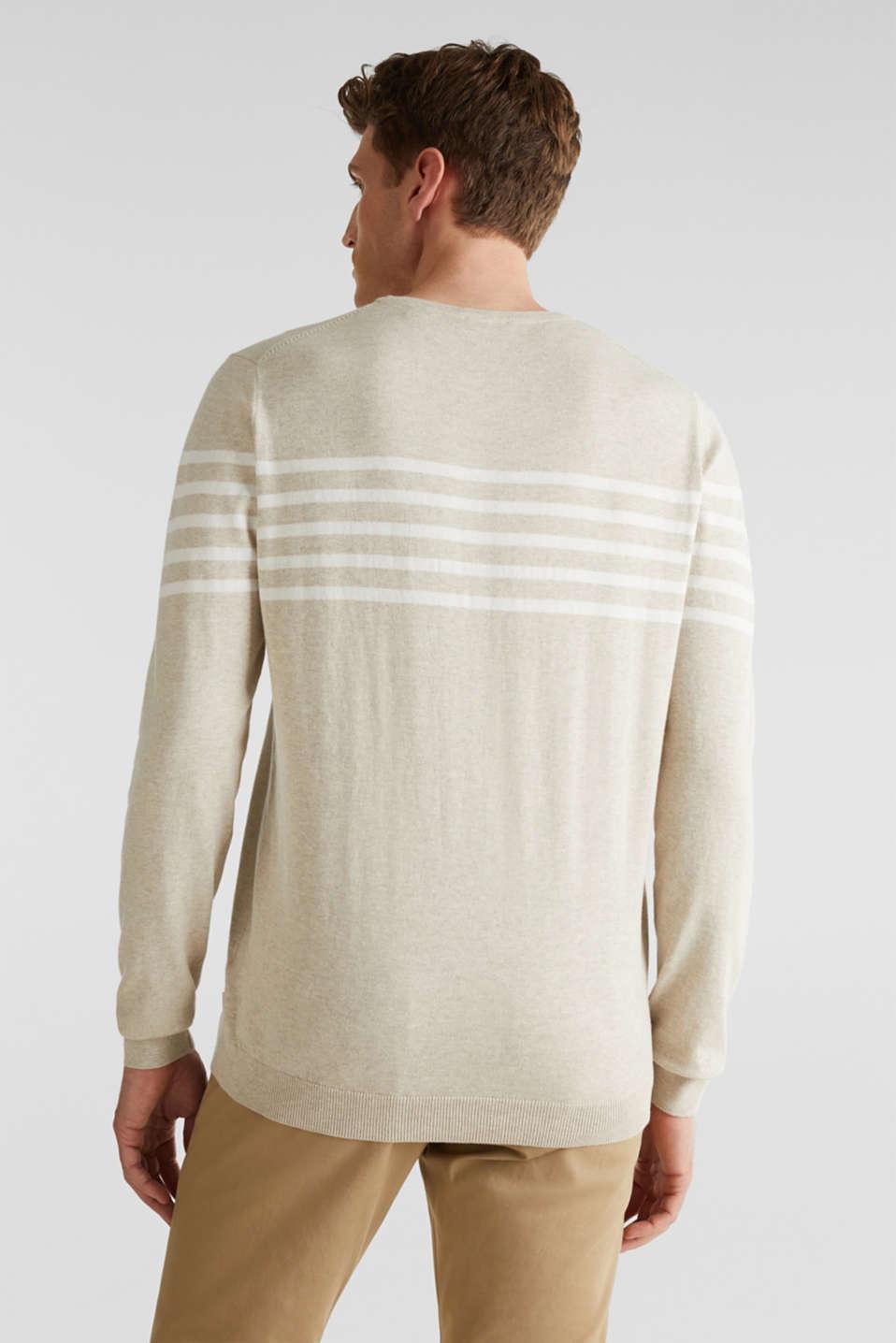 100% cotton jumper, BEIGE 3, detail image number 3