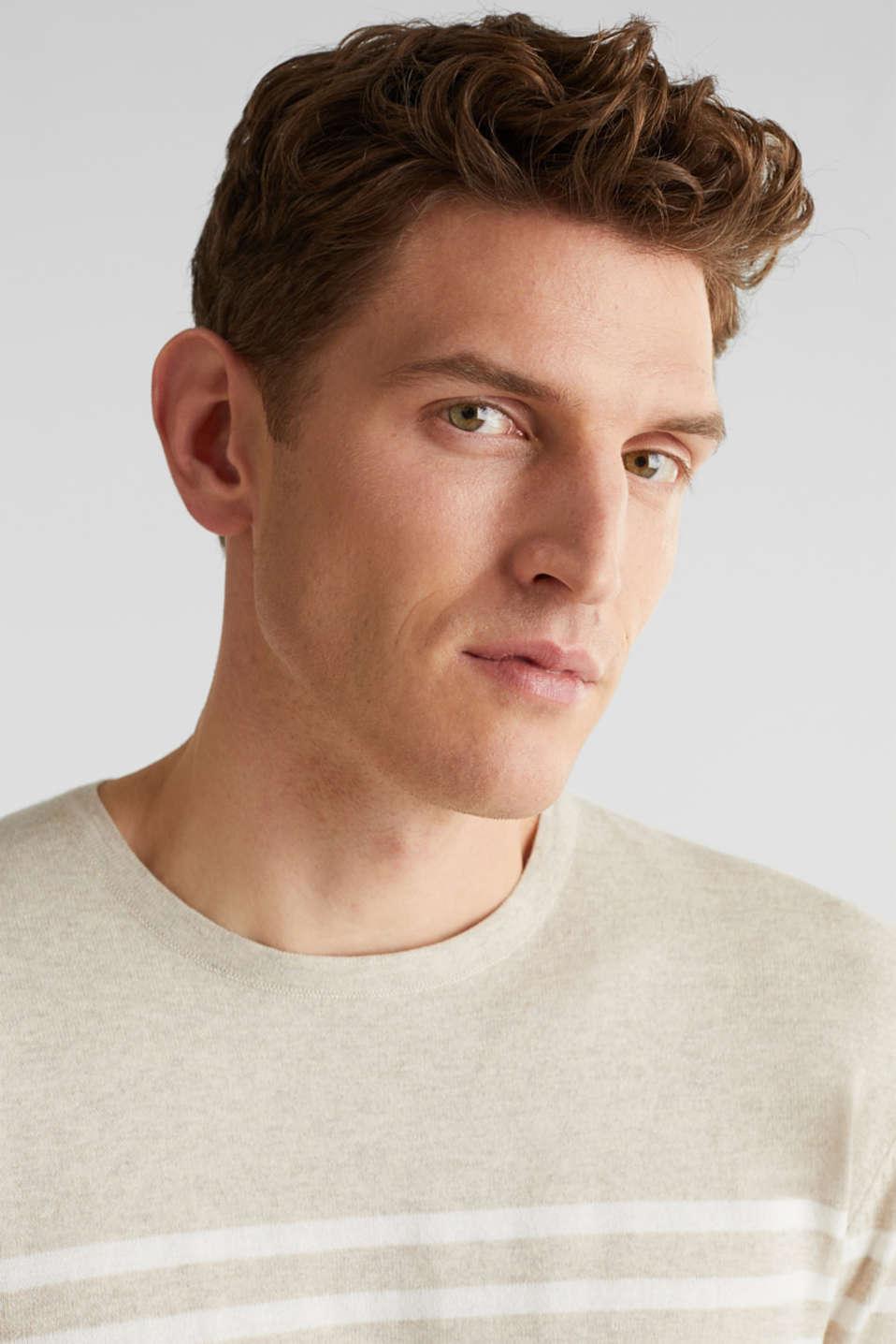 100% cotton jumper, BEIGE 3, detail image number 5