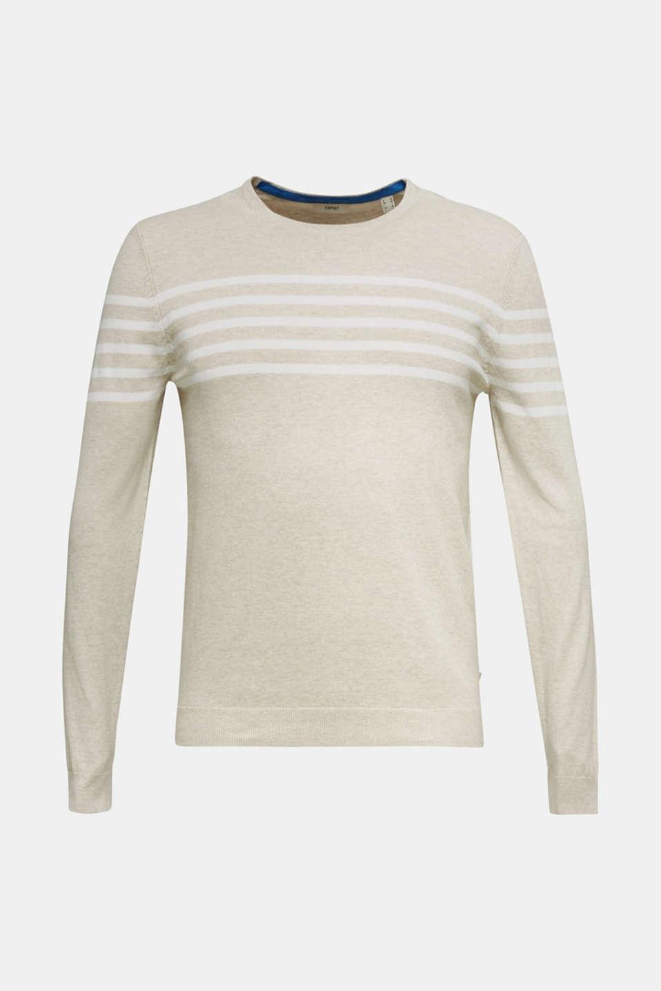 100% cotton jumper, BEIGE 3, detail image number 7