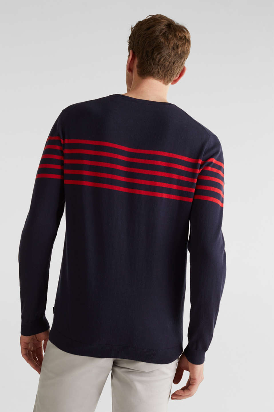 100% cotton jumper, NAVY 3, detail image number 2