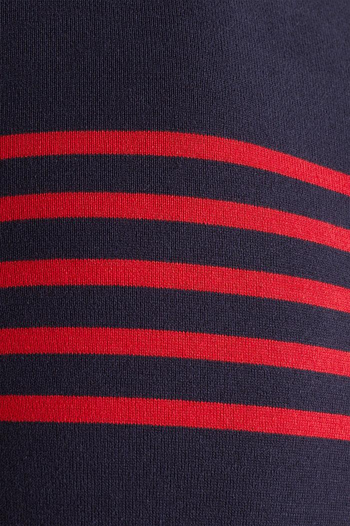 Sweater aus 100% Baumwolle, NAVY, detail image number 3