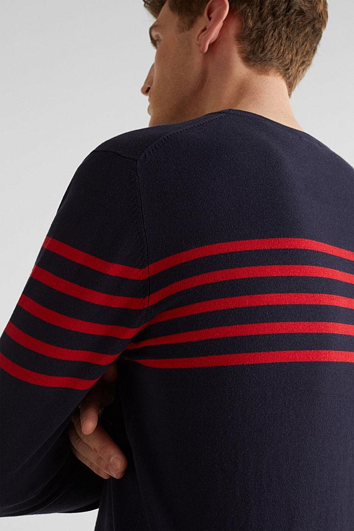 Sweater aus 100% Baumwolle, NAVY, detail image number 5