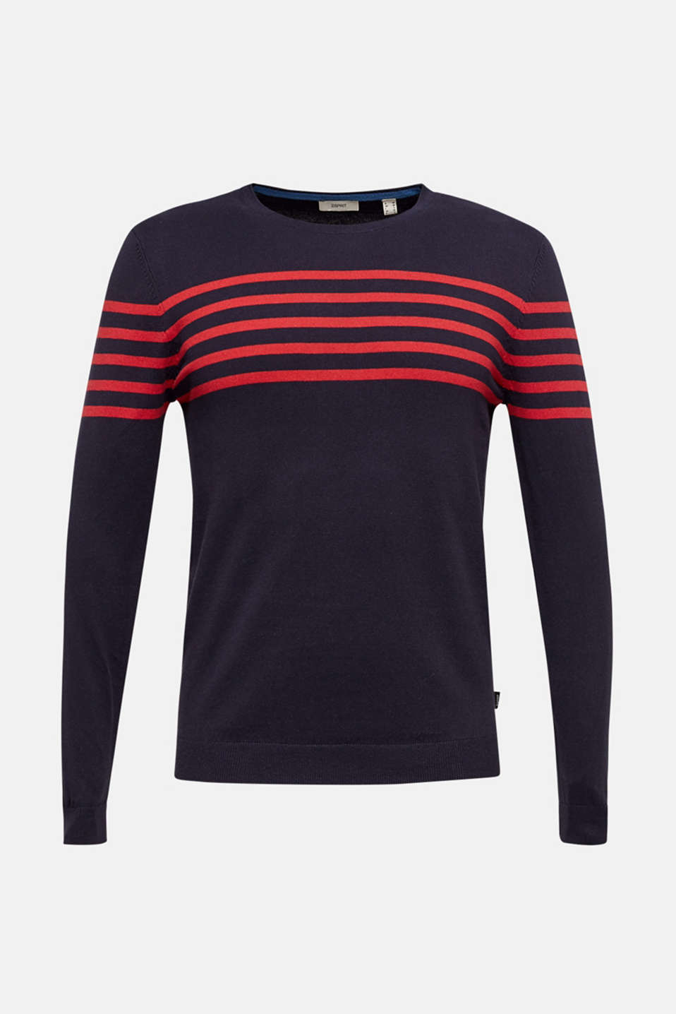 100% cotton jumper, NAVY 3, detail image number 6