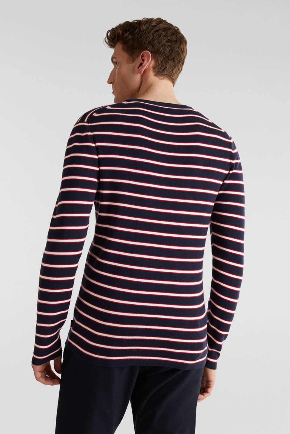 100% cotton jumper, NAVY 3, detail image number 2