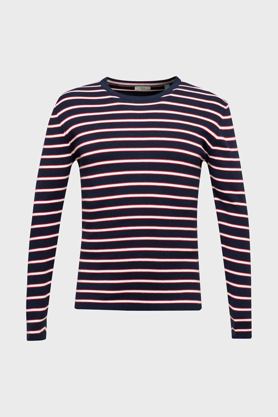 100% cotton jumper, NAVY 3, detail image number 5