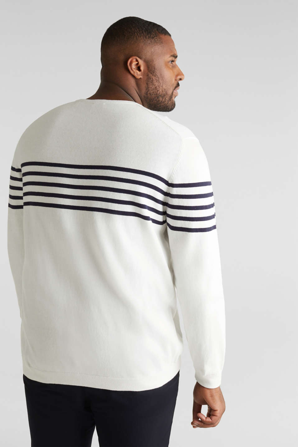 100% cotton jumper, OFF WHITE 3, detail image number 2