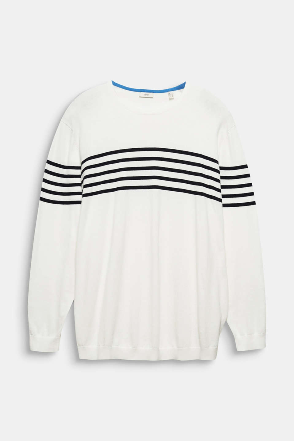 100% cotton jumper, OFF WHITE 3, detail image number 6
