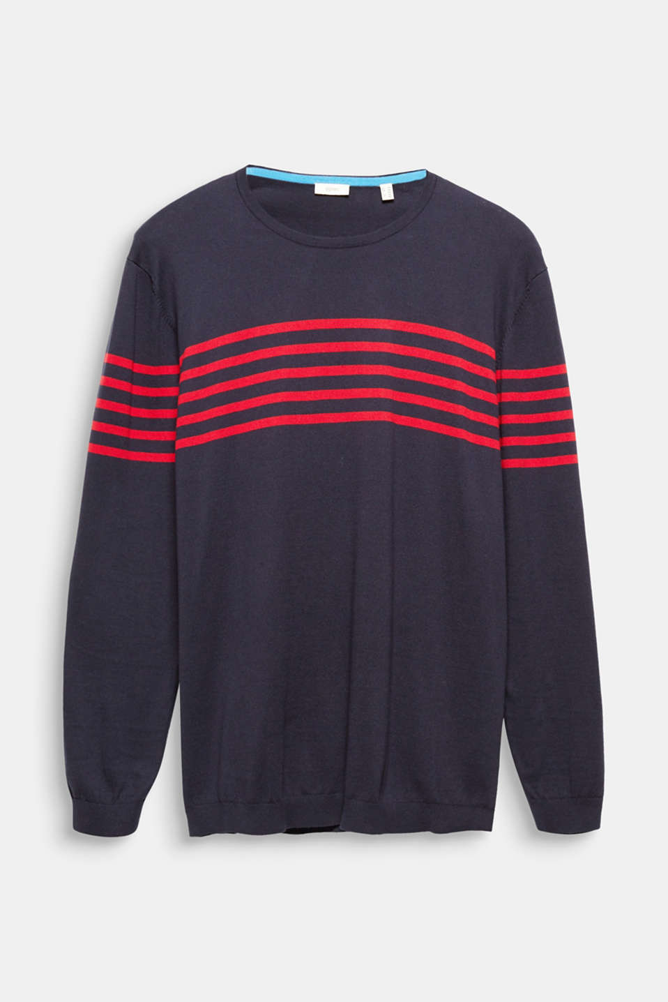 100% cotton jumper, NAVY 3, detail image number 5