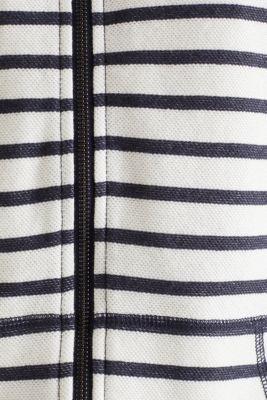 Textured hoodie in 100% cotton, NAVY 4, detail