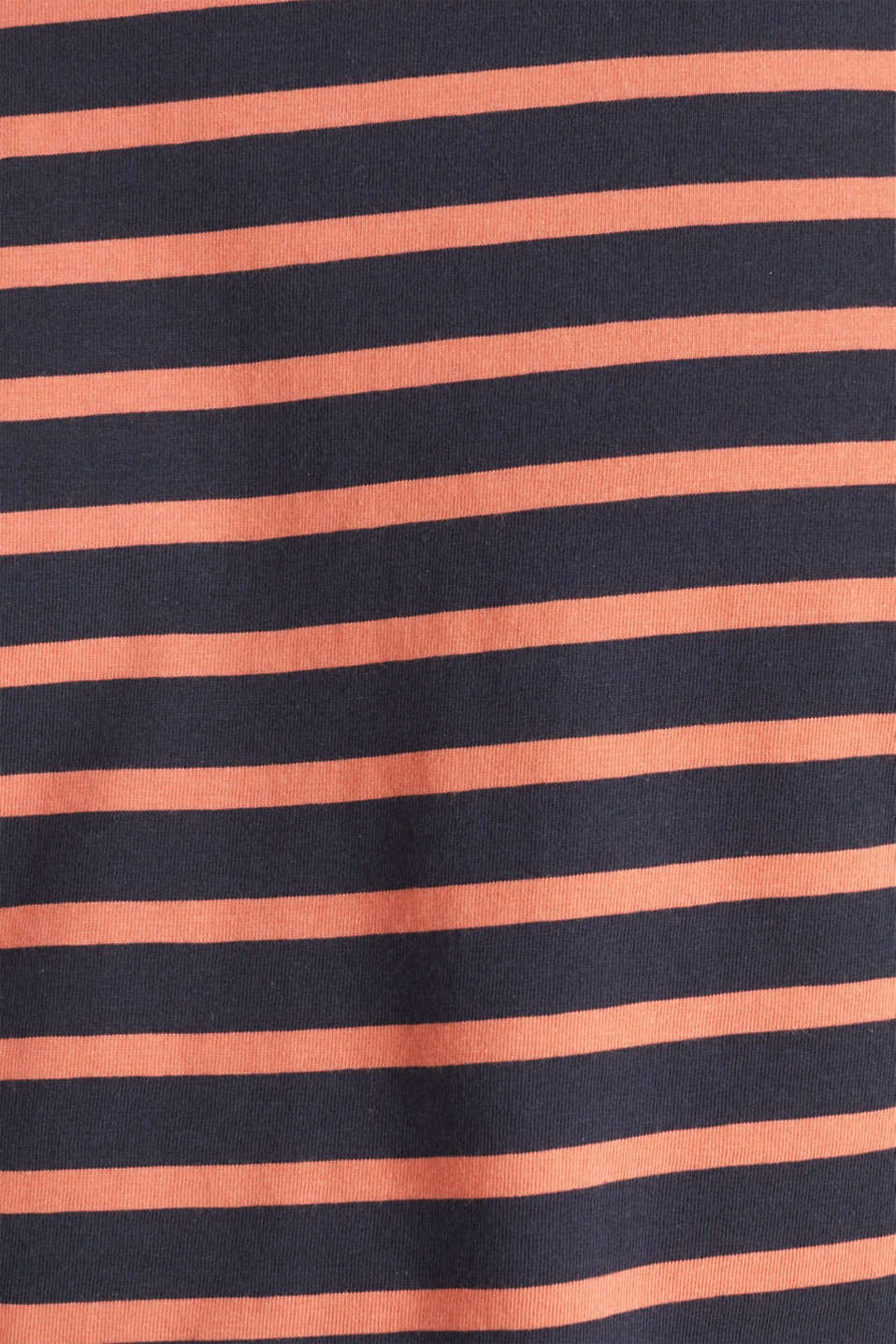 Striped jersey top, cotton, NAVY 3, detail image number 4