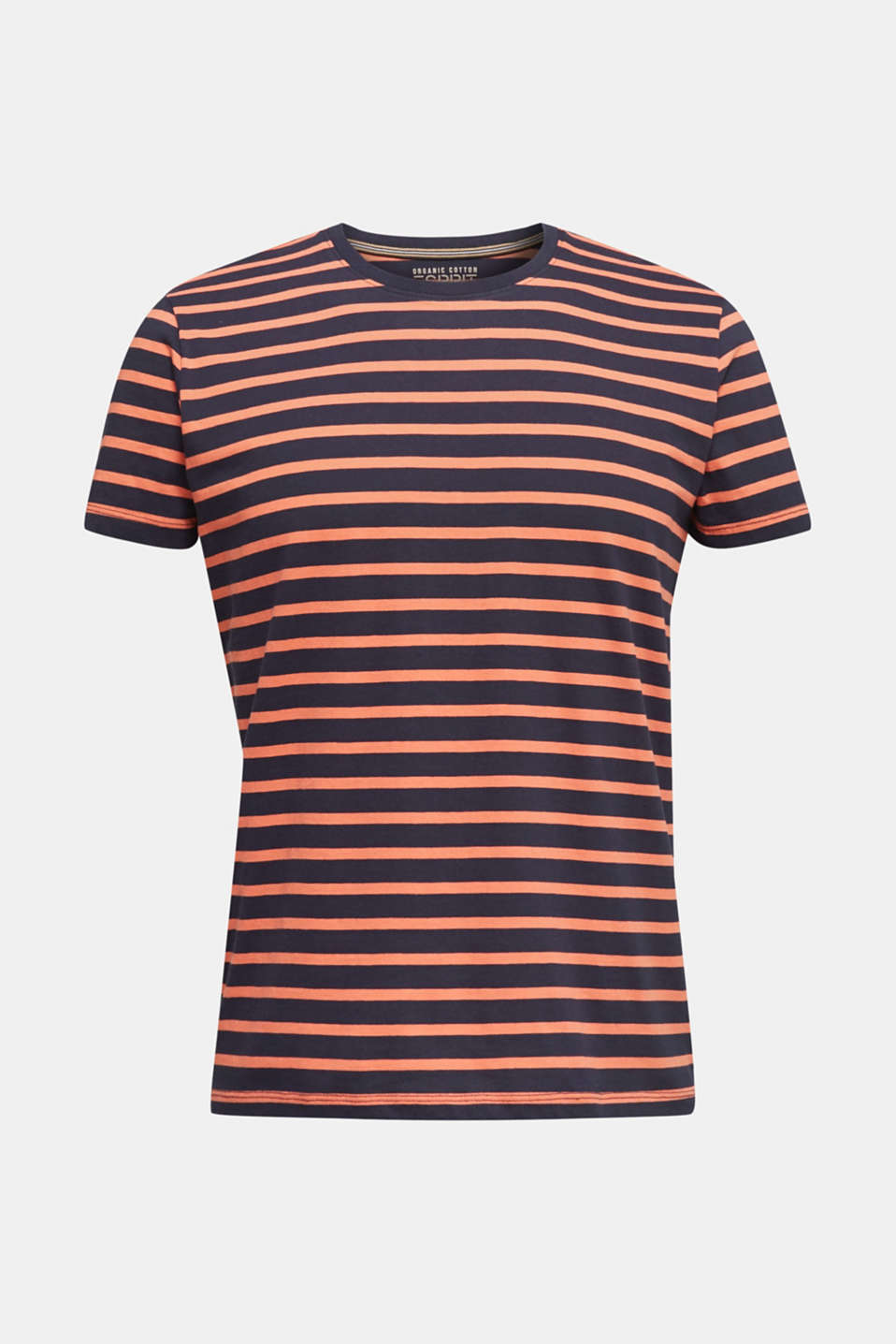 Striped jersey top, cotton, NAVY 3, detail image number 7
