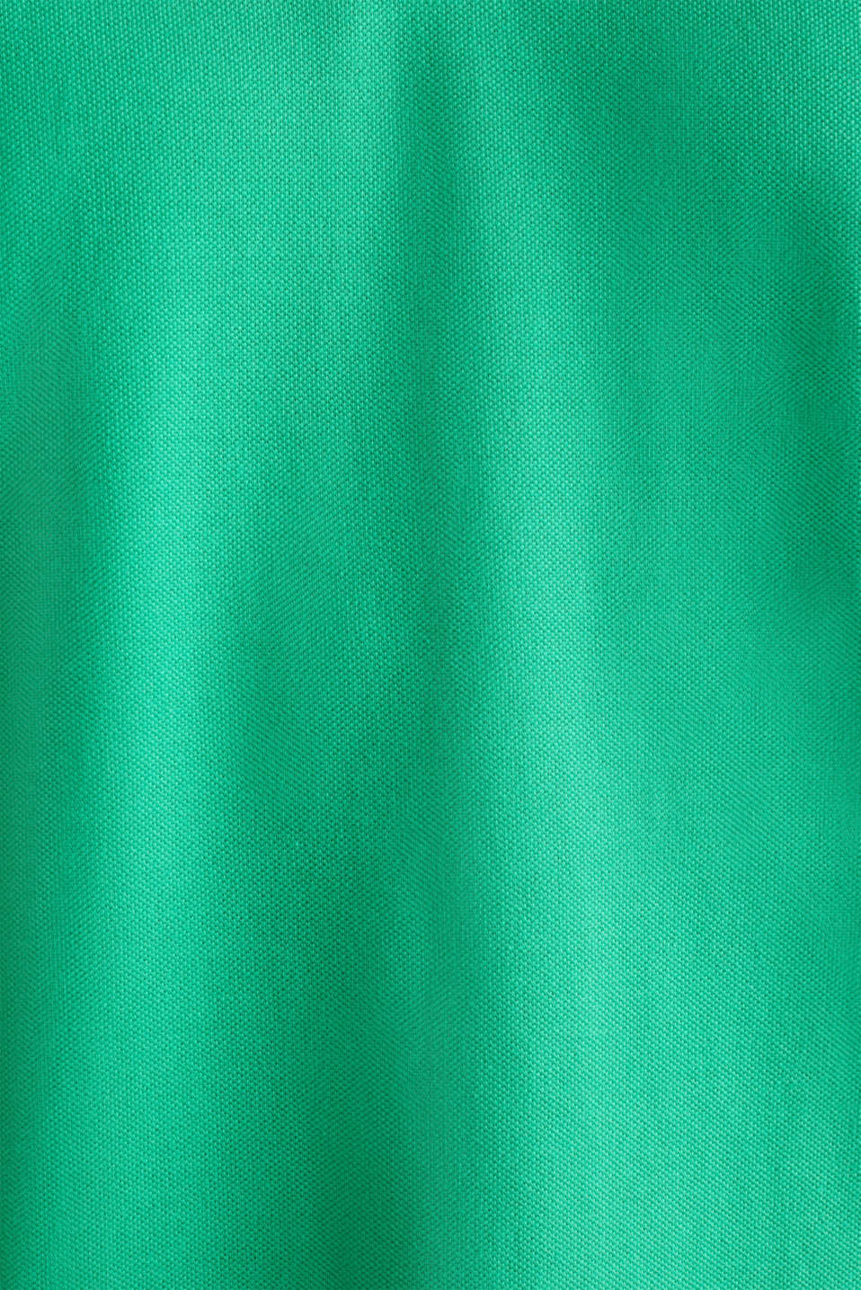 Piqué polo shirt made of 100% organic cotton, GREEN, detail image number 3