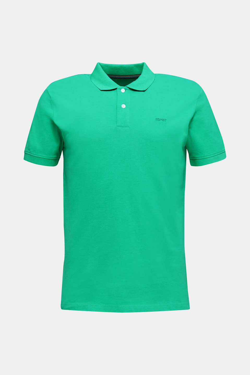 Piqué polo shirt made of 100% organic cotton, GREEN, detail image number 6