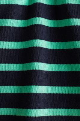 Piqué polo shirt in 100% cotton, LIGHT GREEN 3, detail