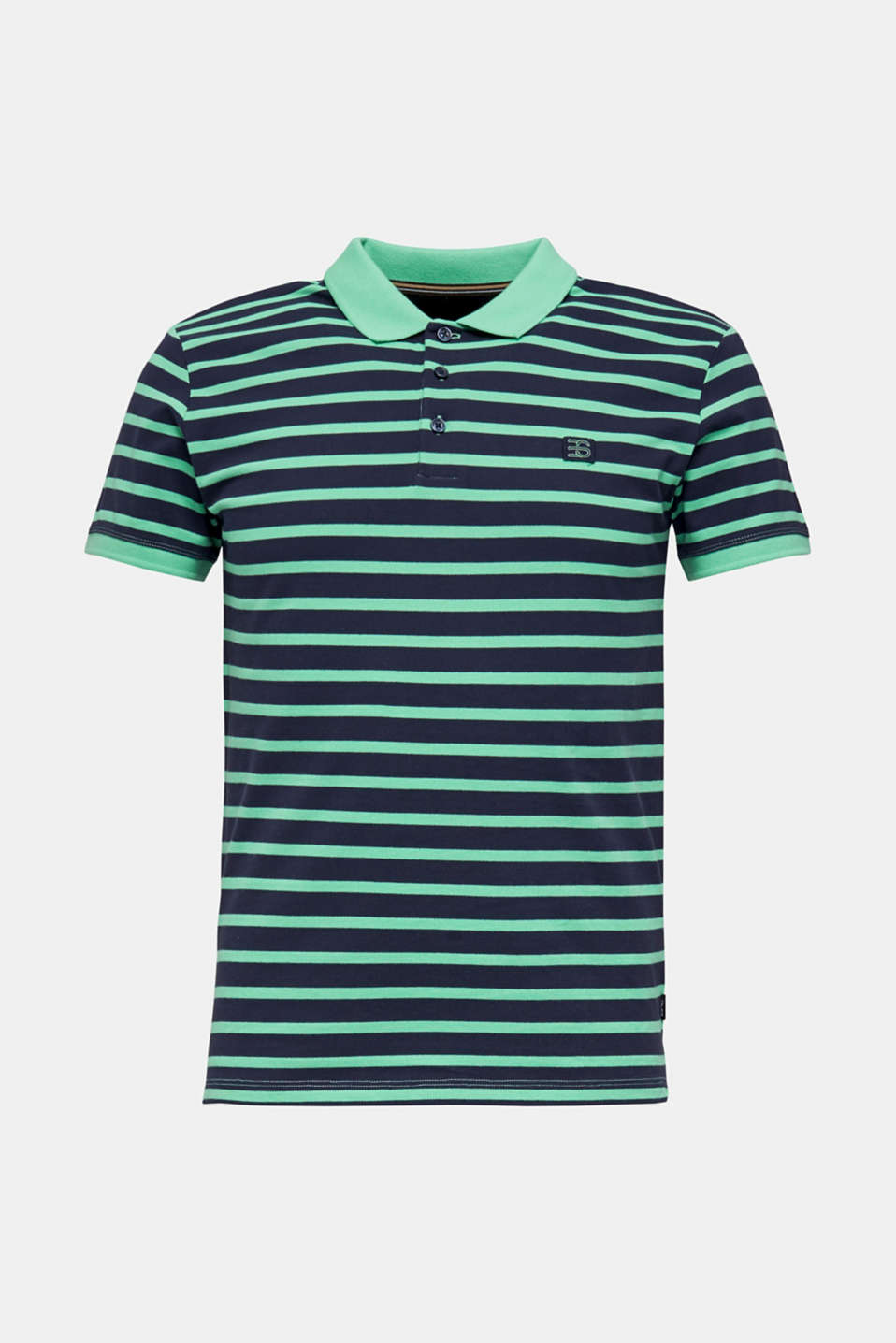Piqué polo shirt in 100% cotton, LIGHT GREEN 3, detail image number 5