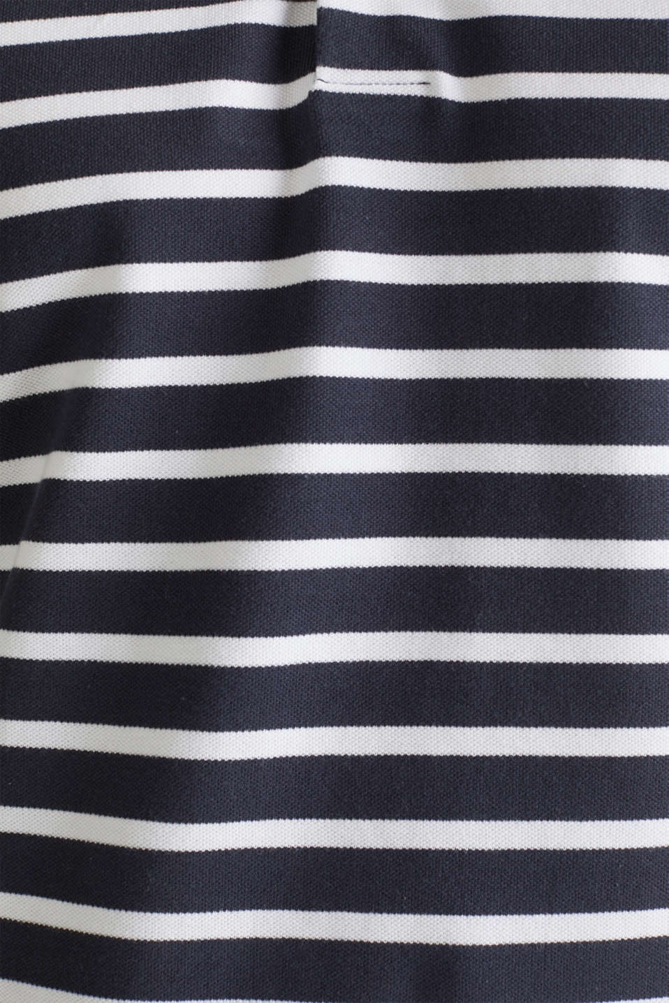 Piqué polo shirt in 100% cotton, NAVY 3, detail image number 4