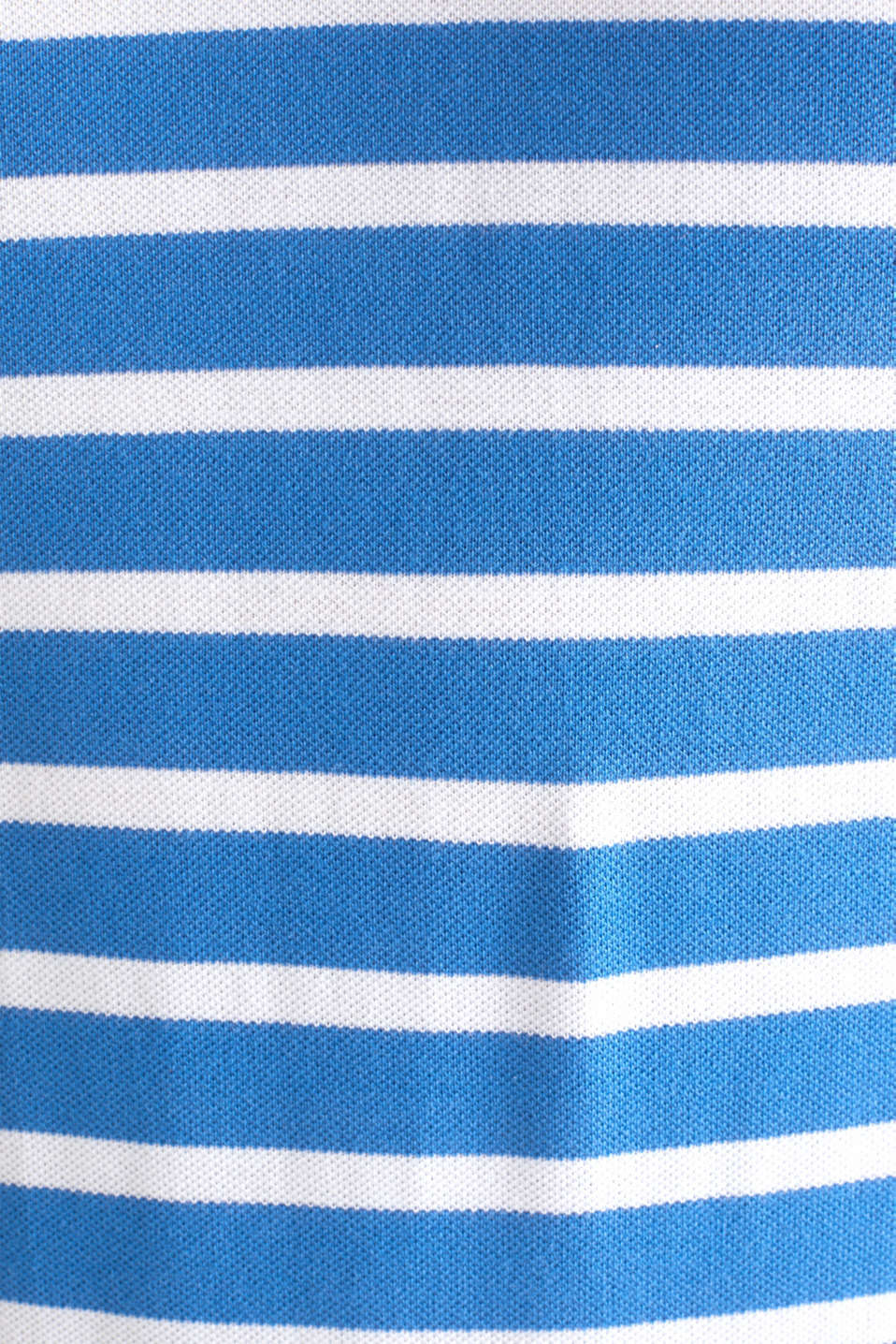 Piqué polo shirt in 100% cotton, BLUE 3, detail image number 5