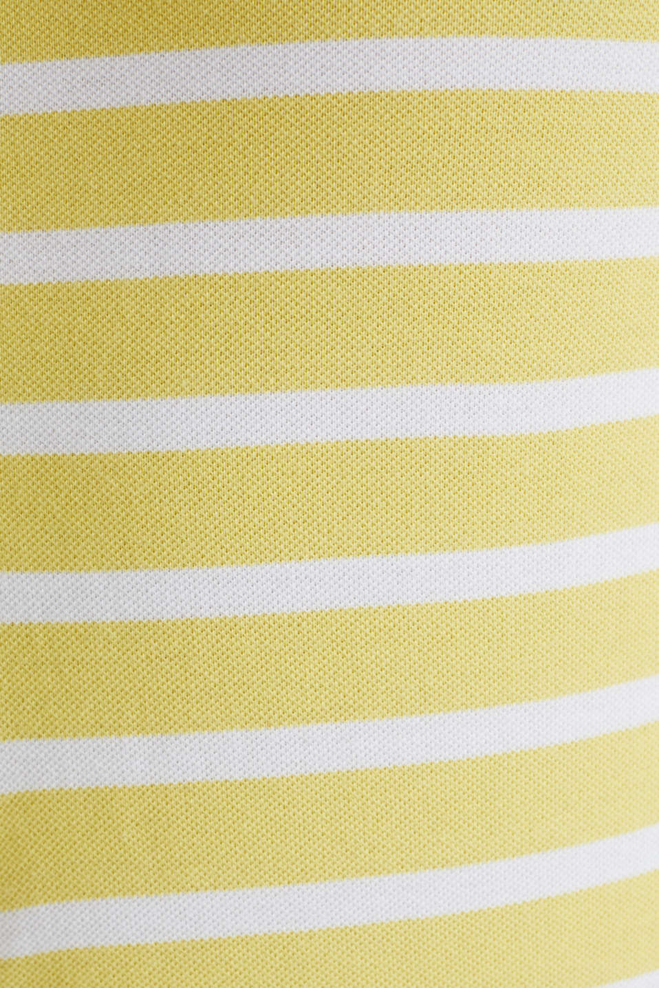 Piqué polo shirt in 100% cotton, LIGHT YELLOW 3, detail image number 5