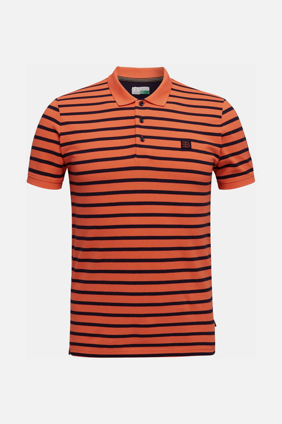Piqué polo shirt in 100% cotton, RUST ORANGE 3, detail image number 6