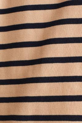Piqué polo shirt in 100% cotton, PEACH 3, detail