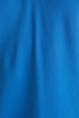 Piqué polo shirt in 100% cotton, BLUE 2, detail