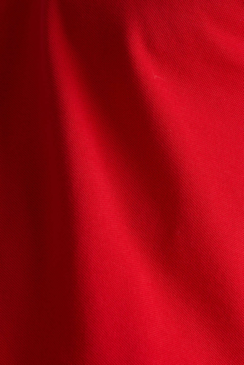 Polo shirts, RED, detail image number 4