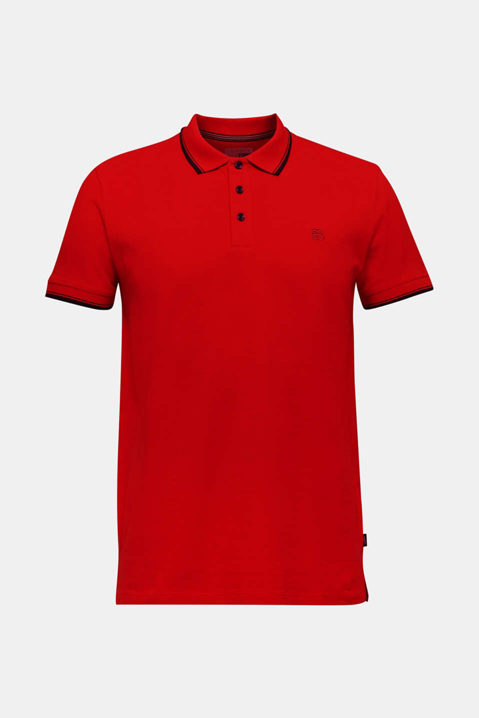 Polo shirts, RED, detail image number 7