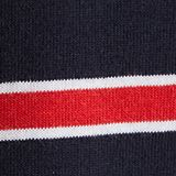Jersey T-shirt with stripes, 100% cotton, RED 3, swatch