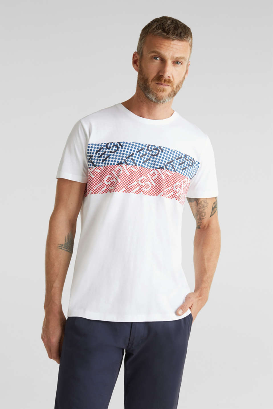 T-Shirts, WHITE, detail image number 0