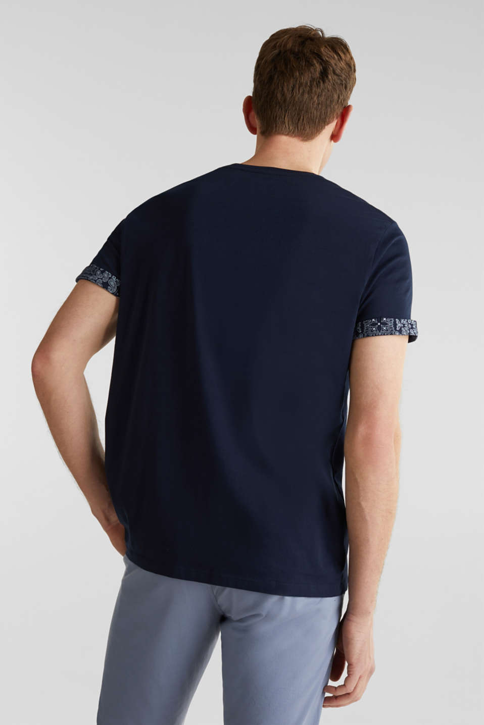 T-Shirts, NAVY 4, detail image number 3