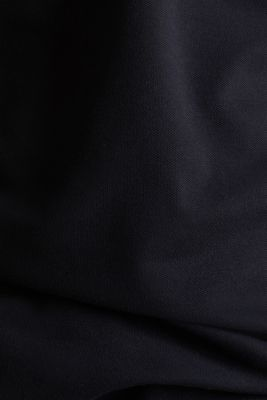 Piqué polo shirt with COOLMAX®, BLACK, detail