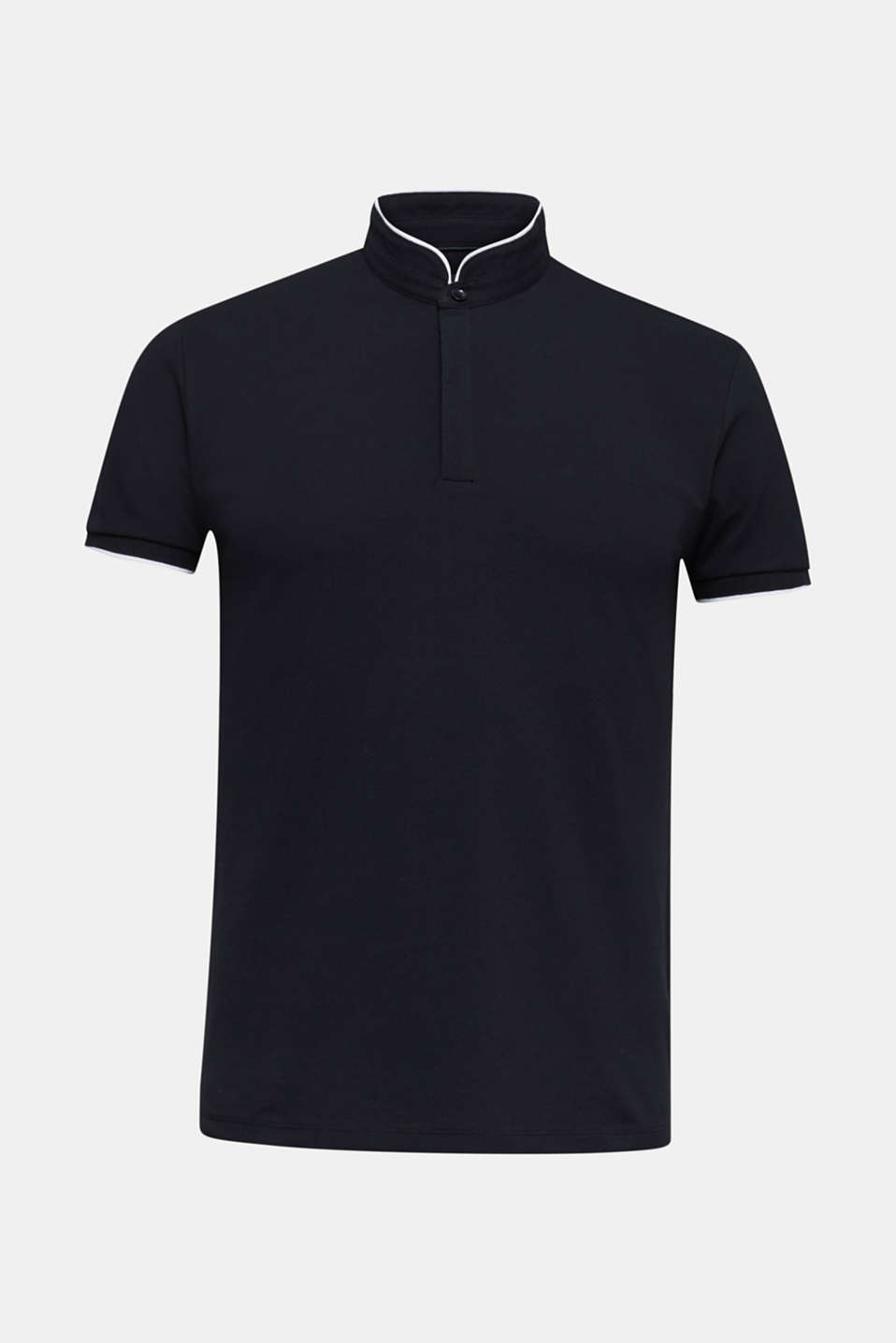Piqué polo shirt with COOLMAX®, BLACK, detail image number 5