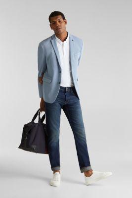 Piqué polo shirt with COOLMAX®, WHITE, detail