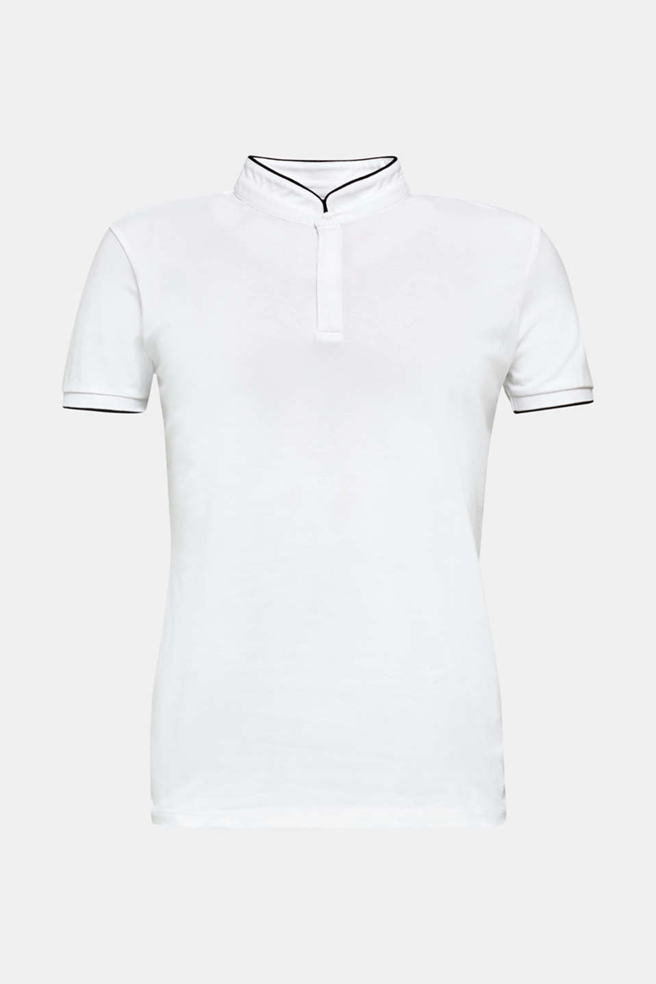 Piqué polo shirt with COOLMAX®, WHITE, detail image number 7