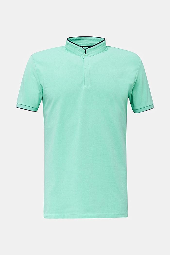 Piqué-Poloshirt mit COOLMAX®, LIGHT GREEN, detail image number 6