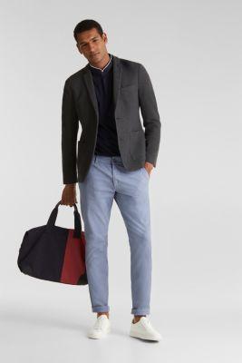 Piqué polo shirt with COOLMAX®, NAVY, detail