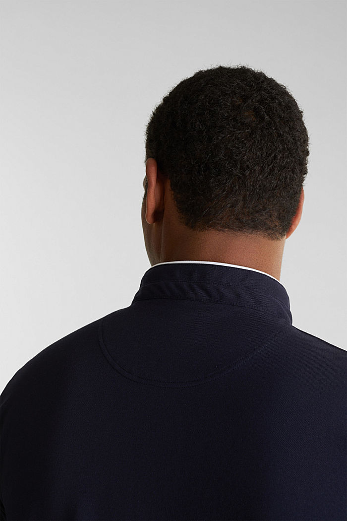 Piqué polo shirt with COOLMAX®, NAVY, detail image number 1