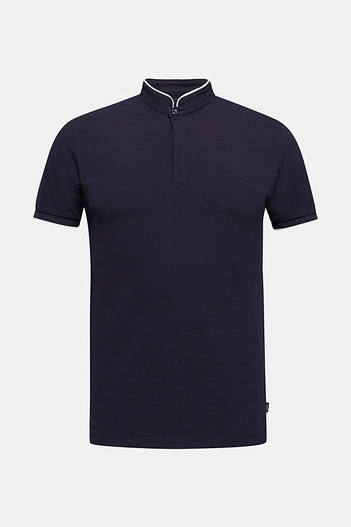 Piqué polo shirt with COOLMAX®, NAVY, detail image number 6