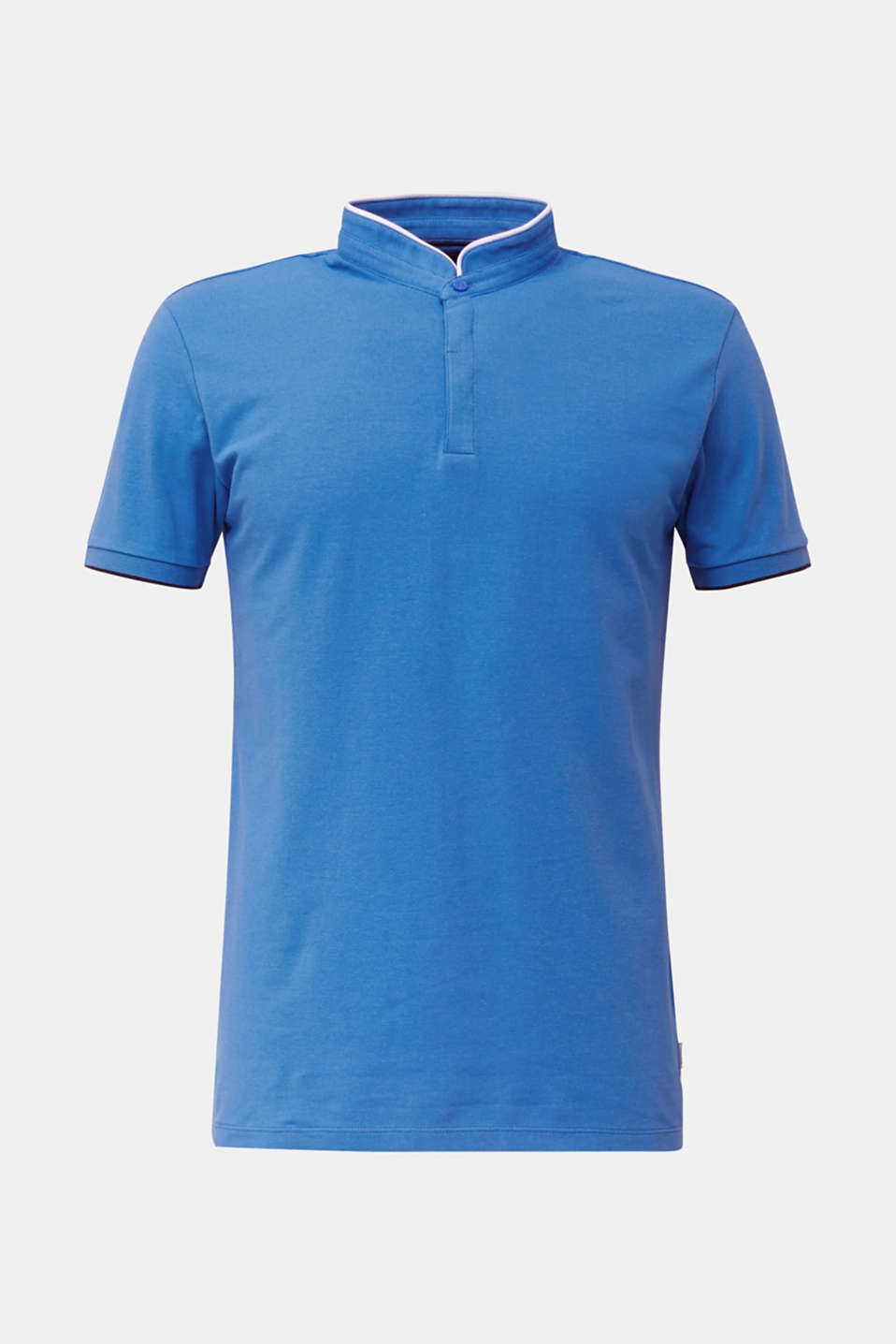 Piqué polo shirt with COOLMAX®, BLUE 2, detail image number 7
