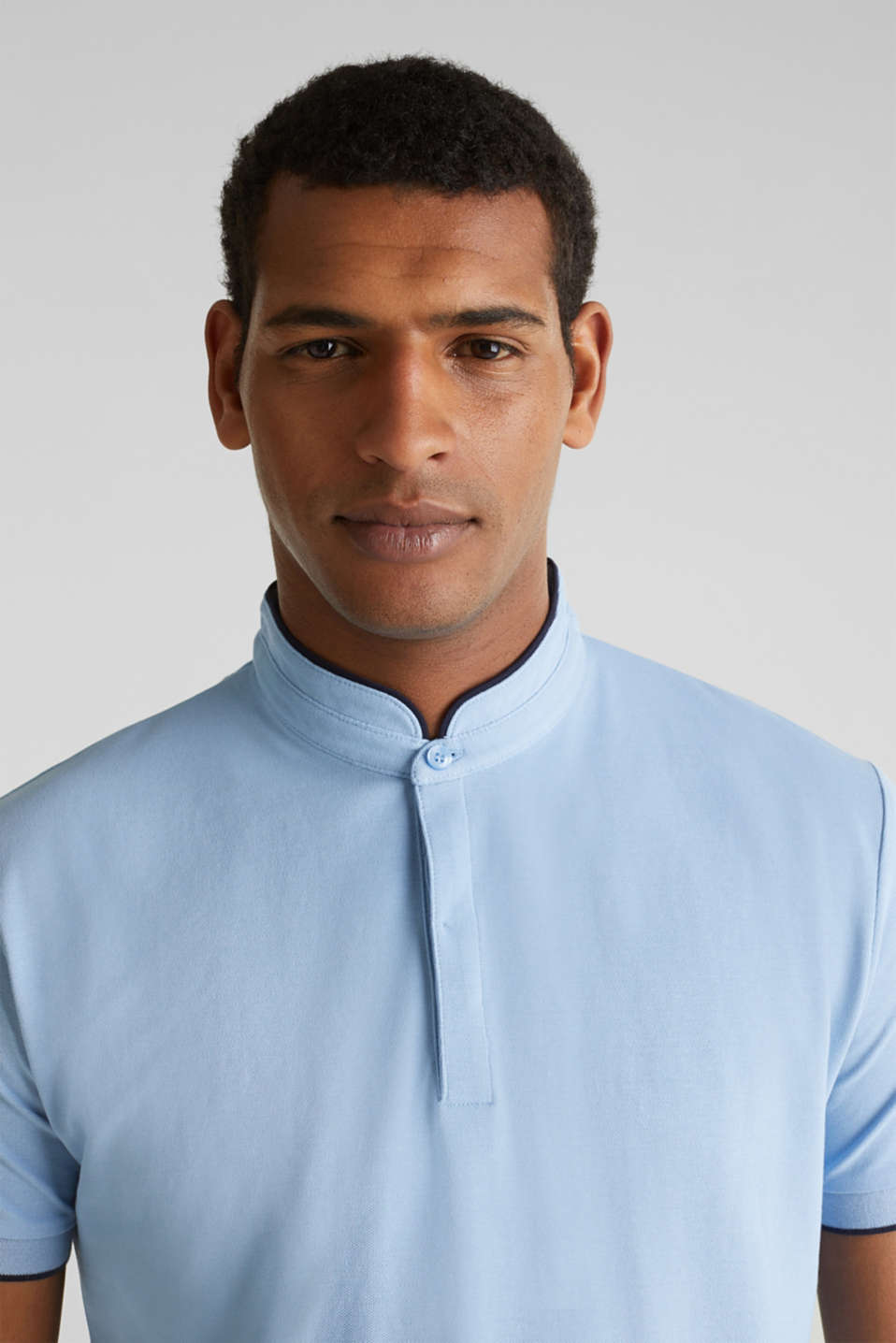 Piqué polo shirt with COOLMAX®, LIGHT BLUE, detail image number 5